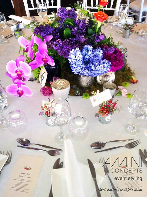 Low woodlands floral table styling. #styling #events #weddings #tablesetting #eventstyling #australia #brisbane #queensland