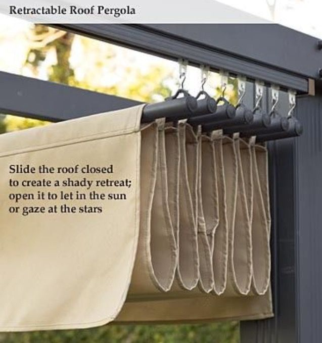 The 25+ Best Retractable Pergola Ideas On Pinterest | Pergola Retractable  Shade, Retractable Awning Patio And Outdoor Patio Canopy Ideas