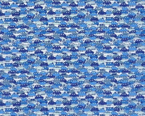 Lovely cars  Liberty of London fabric
