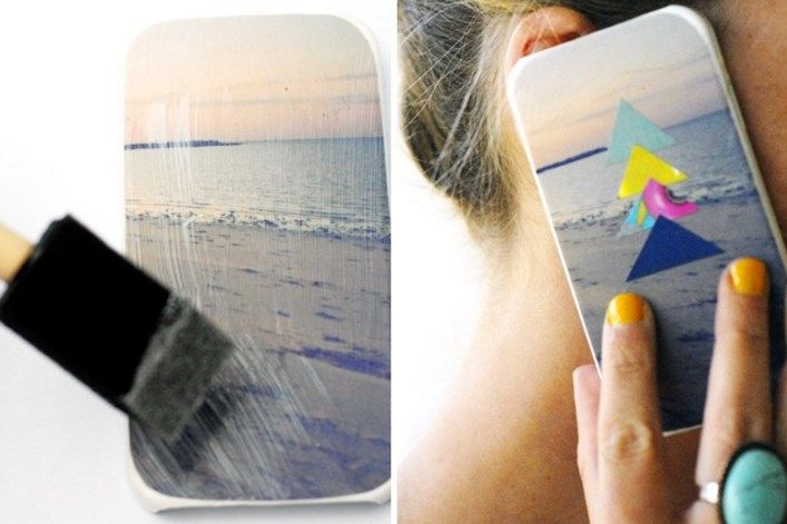how to make a clear phone case from scratch