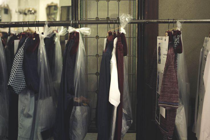 Making of SS 2015 Antonio Marras Menswear Fashion Show