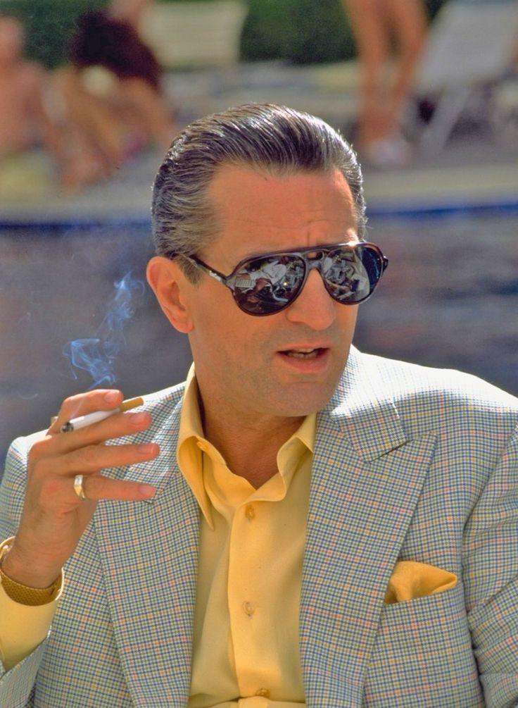 fashion for men Robert De Niro, Casino.