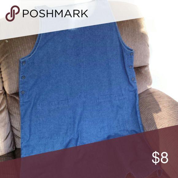 Denim Maternity Jumper 100% cotton maternity jumper Karen Scott Dresses