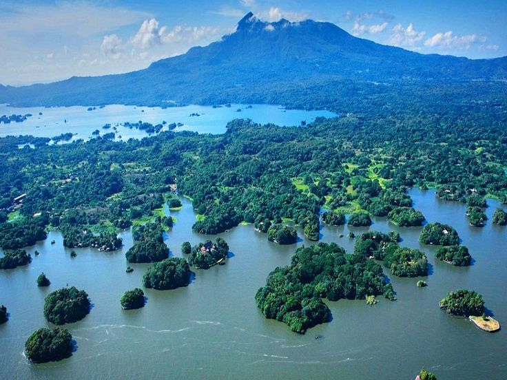 The famed Islets on Lake Nicaragua