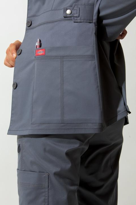 #Dickies #Scrubs #Nurses #Uniform #Gray