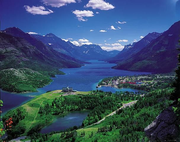 Waterton Lakes National Park in Improvement District No. 4, AB