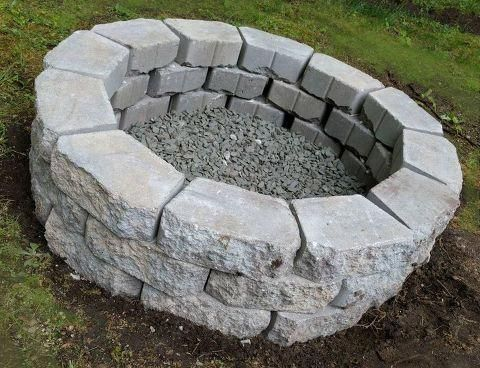 Inexpensive Diy Fire Pit Outside Fire Pits Outdoor Fire Cool