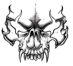 evil skull - Kaneva Photo