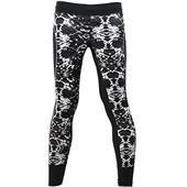 Asics Liteshow Tight Pants - Womens Black White