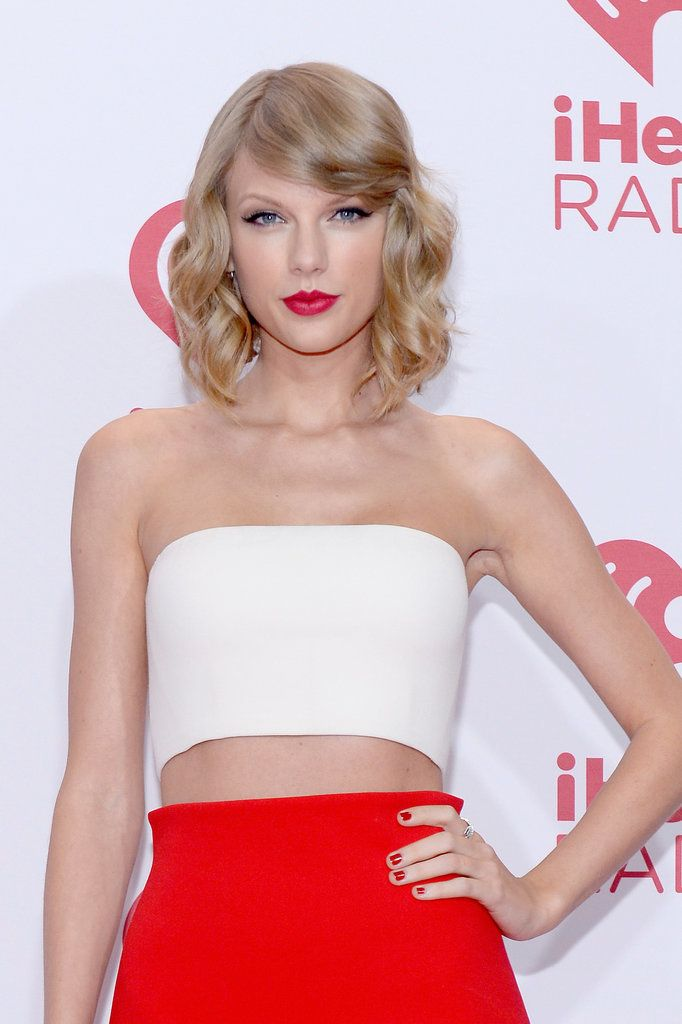 Taylor Swift's ash blond strands would look gorgeous on a cool complexion.