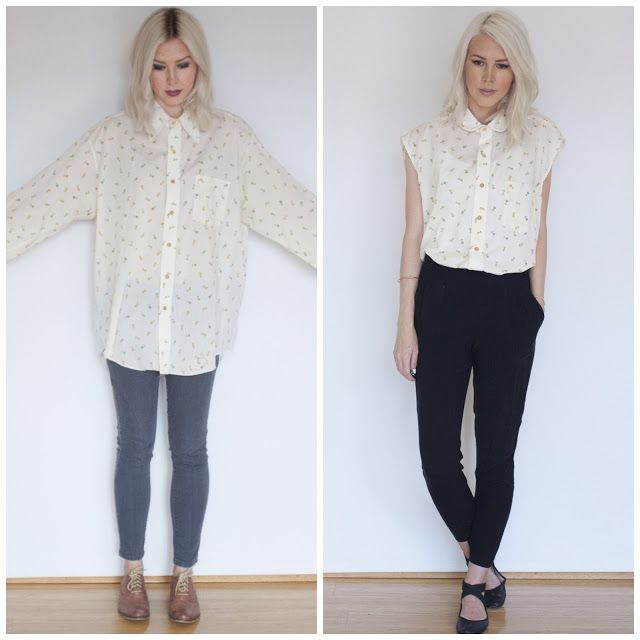 Refashion Co-op: Tulip Shirt Makeover