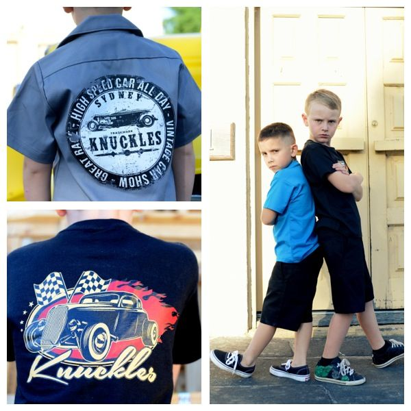 Kustom Kulture Kids clothing sure to make any little greaser smile. available at  Knuckles Kustom Kulture Kids wear is available at www.bettiebaby.com.au