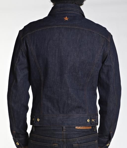 When we decided to make our first denim jacket back in 2006, we knew how it should fit - snug but not tight & should sit on the hips without being too short