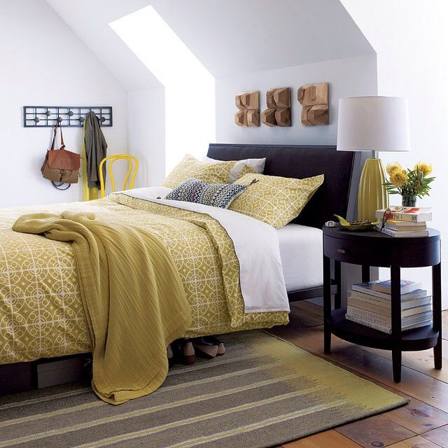 Best 25 mustard bedroom ideas on pinterest mustard and for Crate and barrel arch