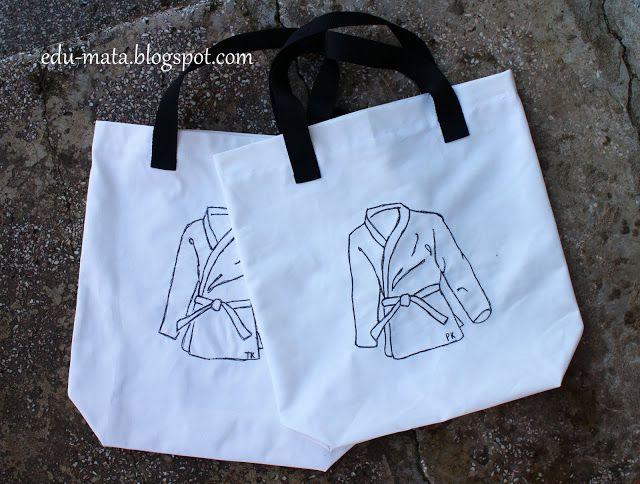 edu-mata,judo bag, kimono bag, sew, sewing bag,