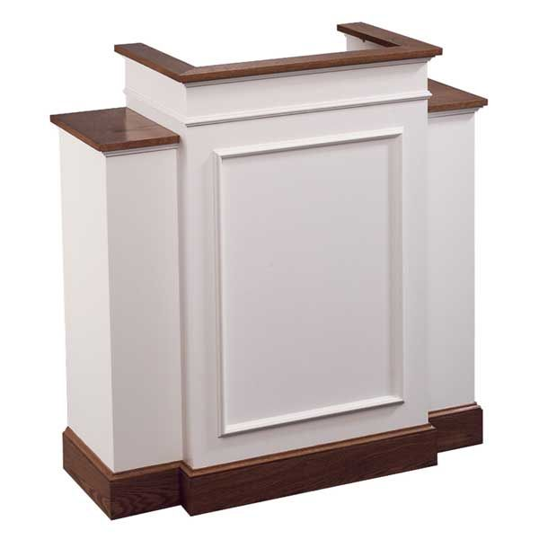 No 810w Wing Pulpit Colonial Style Diy Pulpit