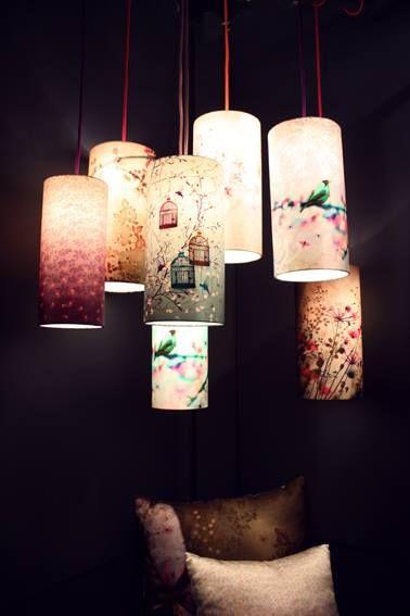 Luminaires en soie chacha by iris - Tom dixon catalogus ...