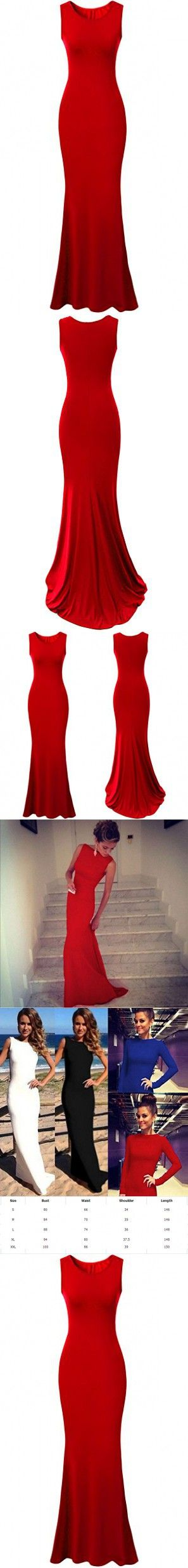 Red Prom Dresses 2015 Long for Juniors Plus Size Women Gown