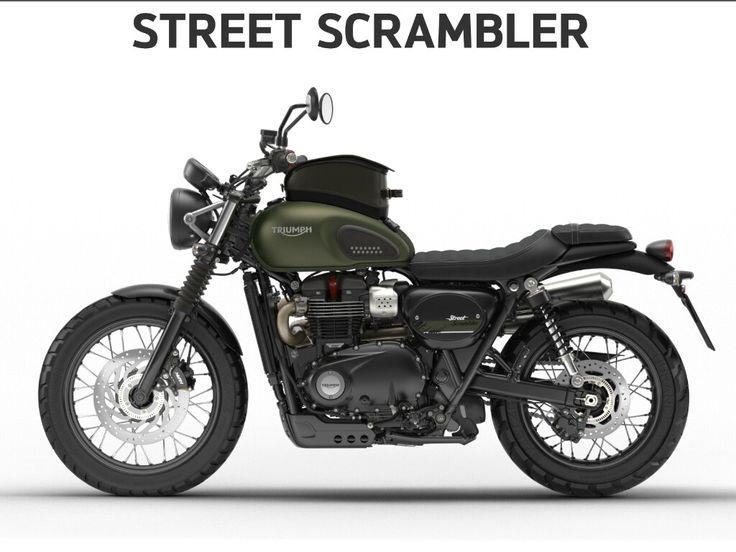 Triumph street scrambler 2017