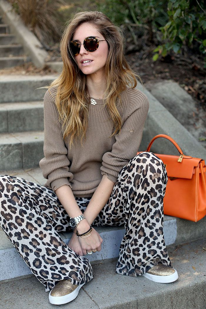If you wear the leopard print pants Creators of Desire waysify