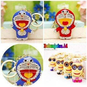Gantungan Kunci Doraemon Dan Minions Blink Swarovski IDR : 35.000 SMS & TLP 082244885838 | 082231029992 PIN BB : 51D53F9A / D04C399C