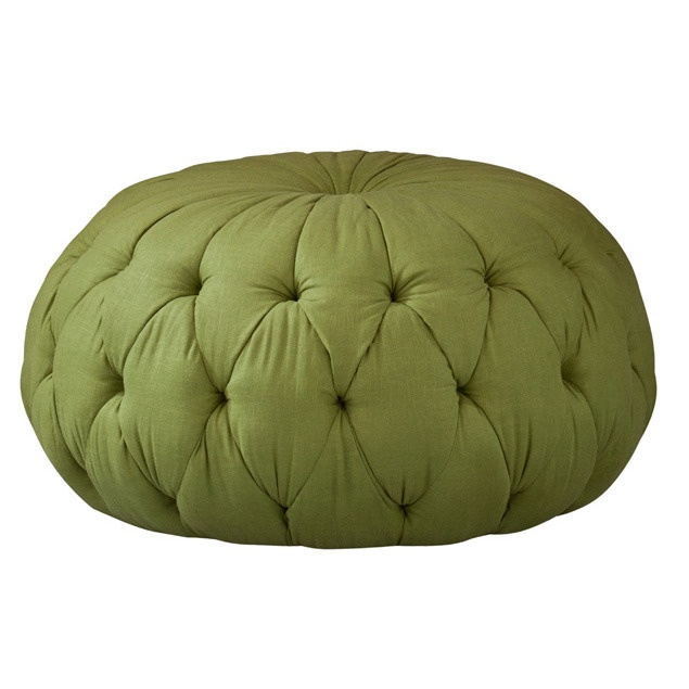 Tufted Singer Green Ottoman By Lilly Pulitzer Home Nice Design