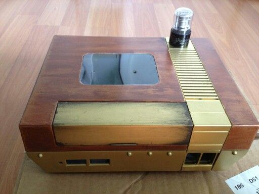 The beginning of my Steampunk NES.