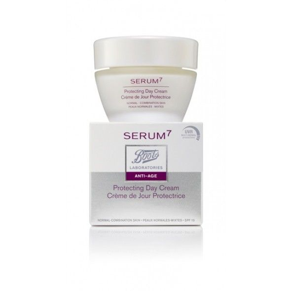Serum7 Boots Laboratories - Protecting Day Cream Normal to Combinaison Skin