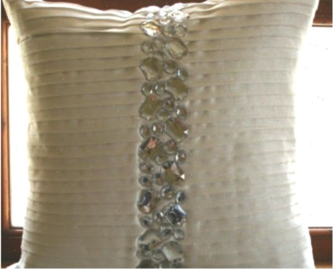 Designer Silver Grey Pillow Covers 16 X16 Silk Pillowcase Square Basket Weave Pintucks Pillows Cover Gre In 2020 Grey Pillow Covers Silk Pillowcase Grey Pillows