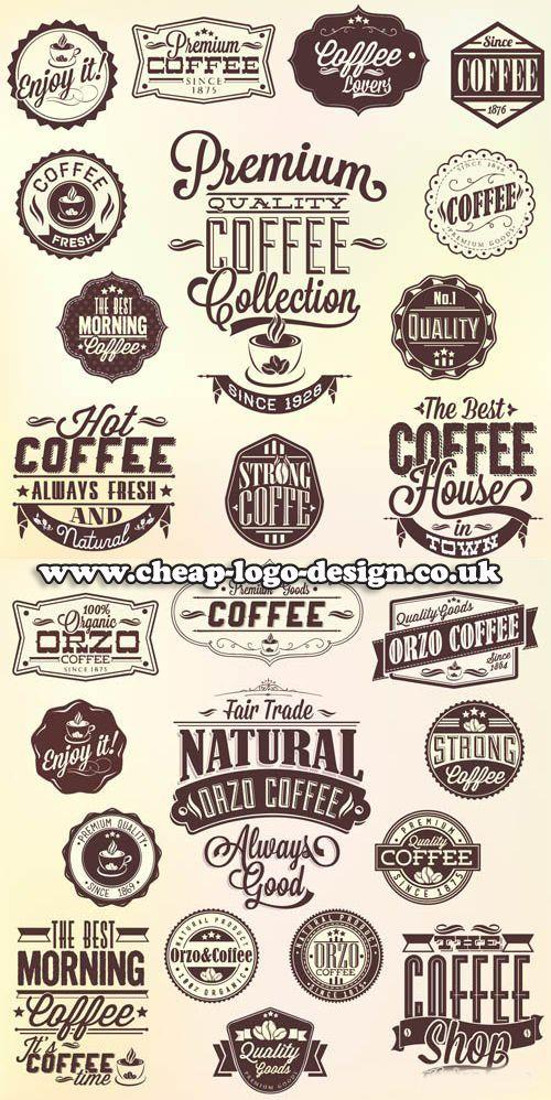 coffee shop logo graphic ideas www.cheap-logo-design.co.uk ...