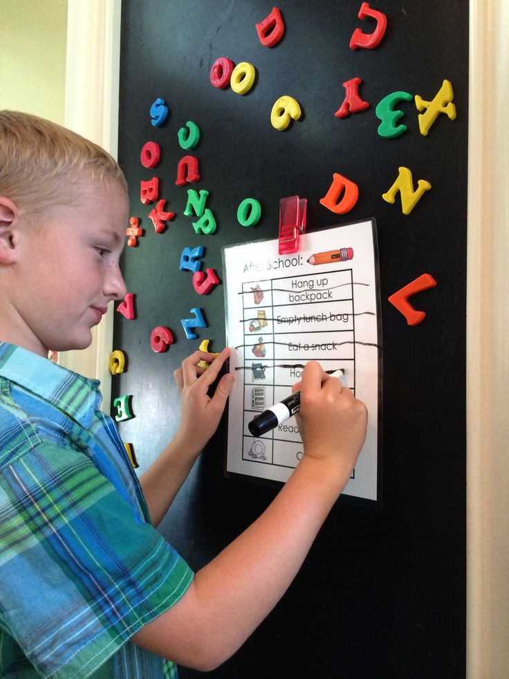 After School Job Chart - Free Printable! - Made From Pinterest