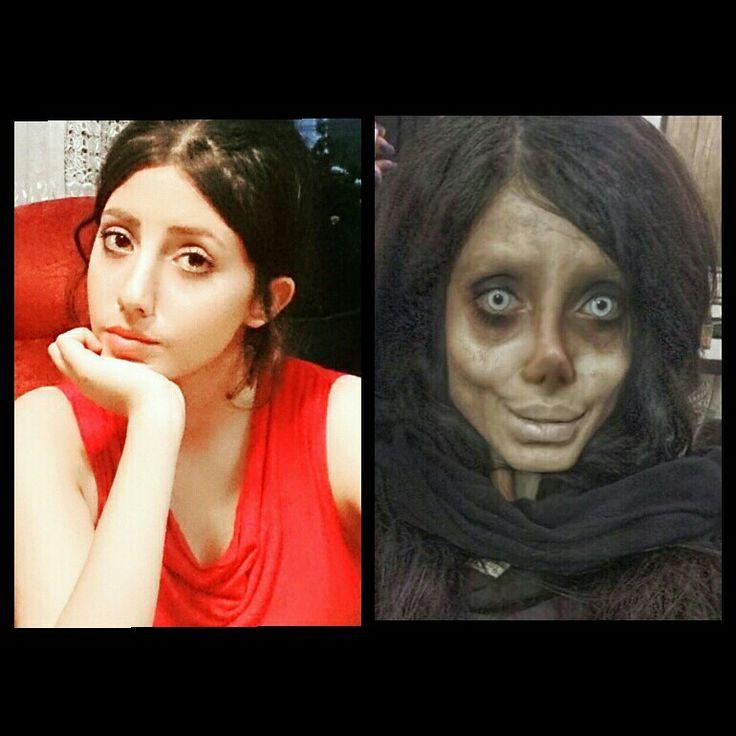 Smile Creepy Viral: Sahar Tabar (wilde Lijken Op Angela Jolie)