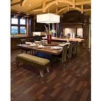 Inspired Elegance by Mohawk Natural Merbau Laminate Flooring
