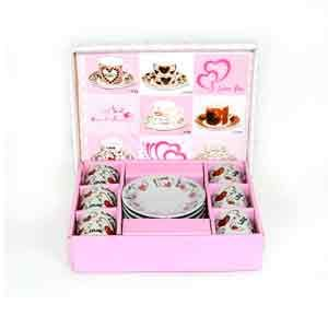 Surprise her by #Gifting a Beautiful 12Pcs Miniature Cup & Saucer  Shop #OnlinegiftstoIndia @ http://www.giftsngreets.com