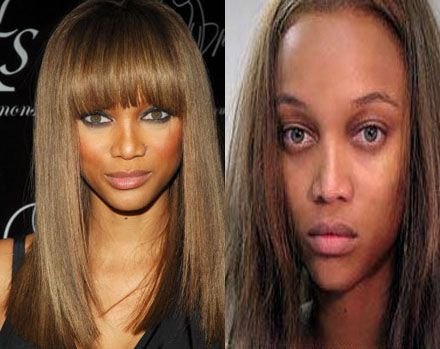 Tyra Banks,even supermodels have bad hair days :)