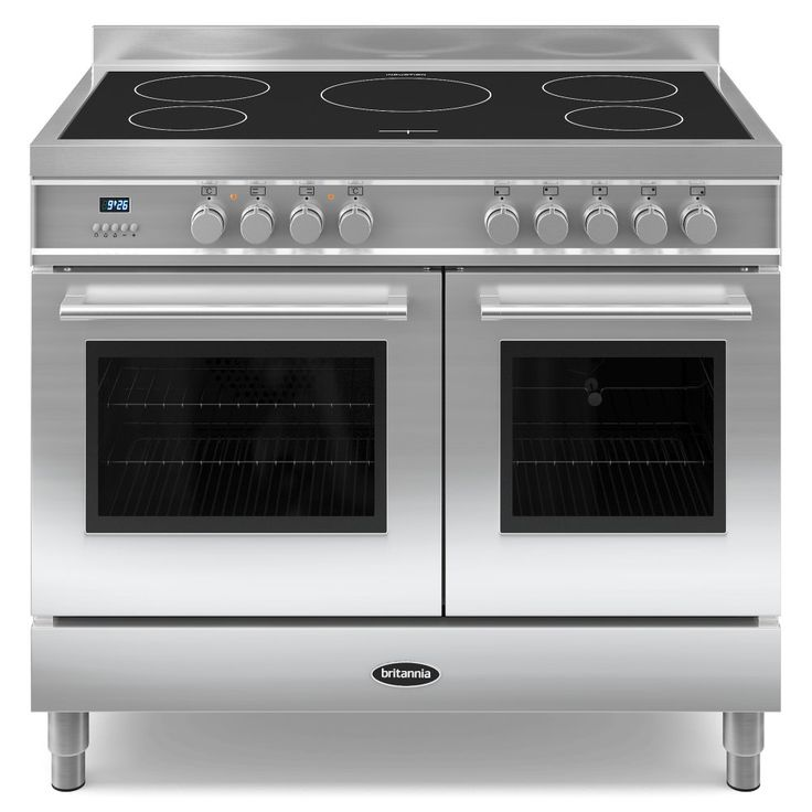 high end electric range with side by side double oven - Google Search