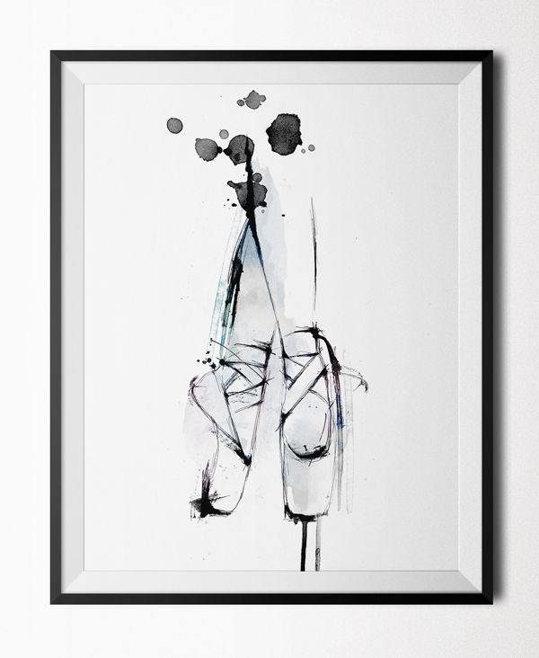 Ballet - Poster (30x40 cm)