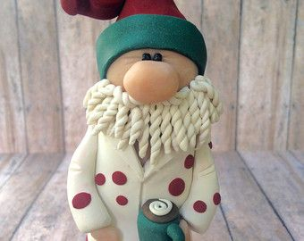 Felt Santa Clause Ornament / Christmas Ornament/ by MyCraft2You