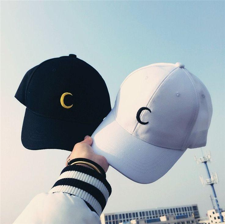 "Harajuku moon baseball cap use coupon code ""cherry blossom"" for 10% off everytime you shop at www.sanrense.com"