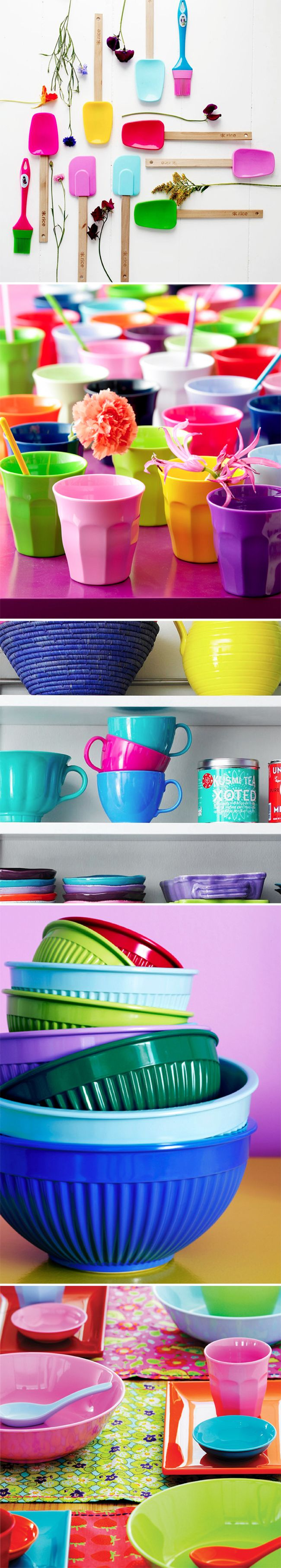 I love the colourful products/styling of rice dk