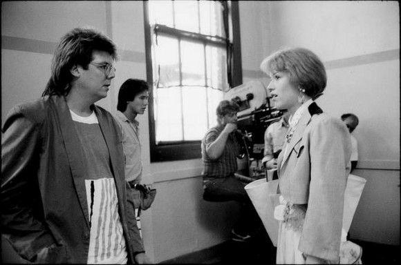 John Hughes and Molly Ringwald Behind the Scenes