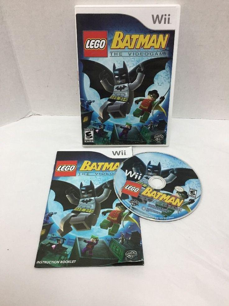 LEGO Batman: The Videogame (Nintendo Wii, 2008) #Nintendo