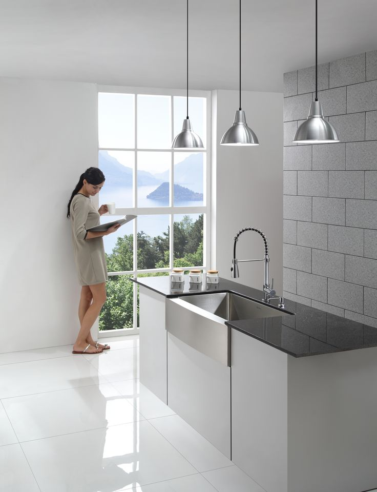 17 best images about kitchen sinks on pinterest kitchen for The brook kitchen and tap