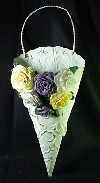 Beautiful project featuring Makin's Clay no bake air dry polymer clay by Tammy Browning-Smith