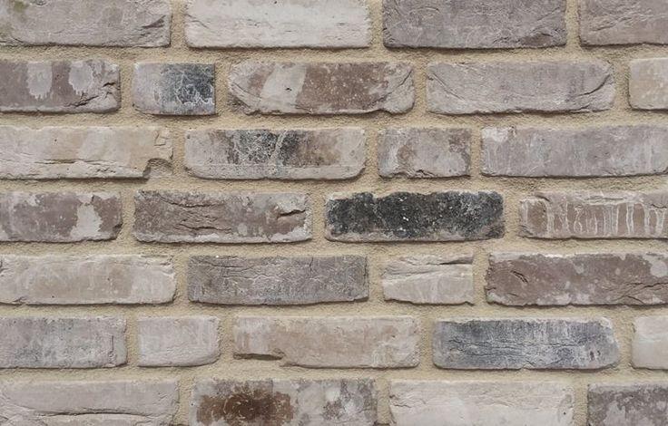 Retro Handform-Verblender, NF, grau bunt antik geschlämmt, K1051, Vormauerziegel