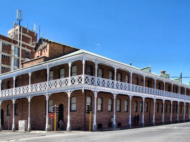 Původní centrála společnosti De Beers, Kimberley, South Africa