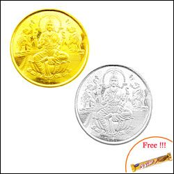 Laxmi Gold Coin Hamper