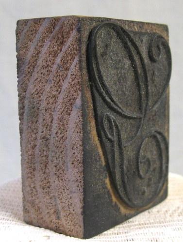 Antique French Embroidery Letter G Monogram Stamp 1 Vintage Linen Wood Block | eBayWood Block, Vintage Linen
