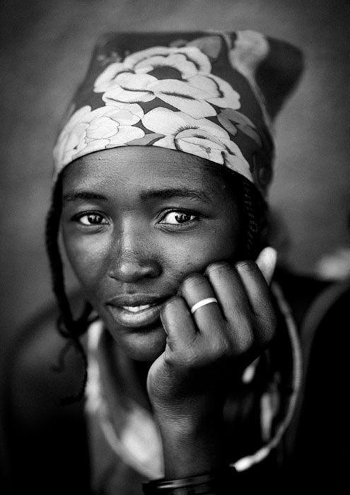 Young desert bride. namibia. photo by eric lafforgue...beautiful