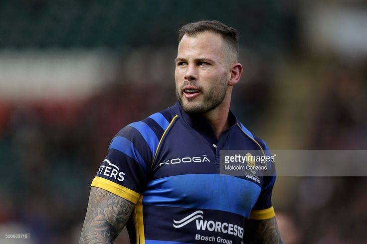 Francois Hougaard of Worcester Warriors looks on during the Aviva Premiership game between Leicester Tigers and Worcester Warriors at Welford Road on April 30, in Leicester, England.
